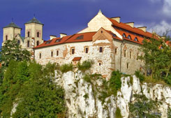 The Benedictine Abbey in Tyniec