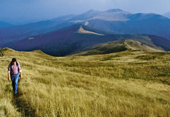The Bieszczady Mountains - trekking tour  in south-eastern Poland