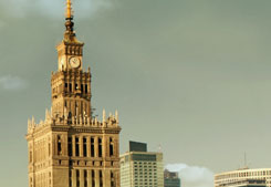Two capitals  of Poland - Warsaw and Krakow. City tour.